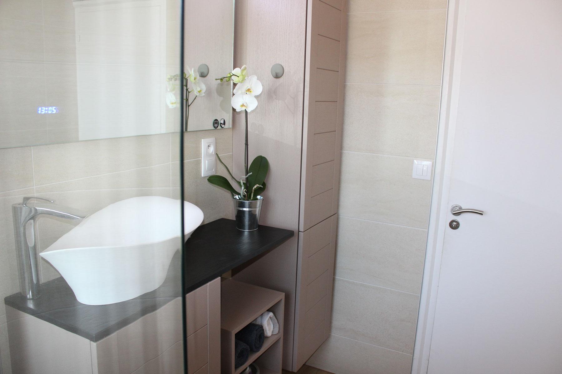Rénovation d\'une salle de bain - Bleu Cerise | Décoration d ...