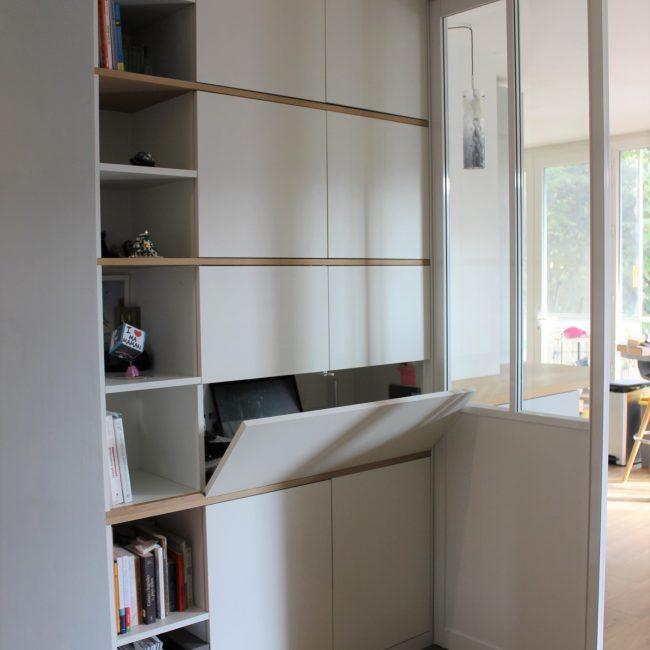 Aménagement central d'un appartement